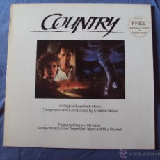 Discos de vinilo: BSO, COUNTRY - CHARLES GROSS (WINDHAM HILL, 1984) LP BSO GEORGE WINSTON MARK ISHAM DAROL ANGER. Lote 39992162