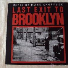 Discos de vinilo: BSO, MARK KNOPFLER, LAST EXIT TO BROOKLYN (VERTIGO 1989) LP OST DIRE STRAITS. Lote 39992349