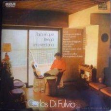Discos de vinilo: LP DE CARLOS DI FULVIO AÑO 1971 EDICIÓN ARGENTINA. Lote 26595683