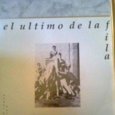 Discos de vinilo: ULTIMO DE LA FILA, EL - BARRIO TRISTE + ANDAR HACIA LOS POZOS.. (EMI,1991) MANOLO GARCÍA - RARO. Lote 39994746