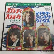 Discos de vinilo: THE BEATLES - OB LA DI OB LA DA - JAPAN SINGLE - 7 PULG ED. JAPONES - VINILOVINTAGE. Lote 39996227