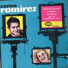Discos de vinilo: CARLOS RAMIREZ, EP, BEGIN THE BEGUINE + 3 , AÑO 1961. Lote 40000059