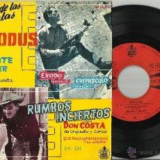 Discos de vinilo: EXODUS FERRANTE TEICHER Y RUMBOS INCIERTOS DON COSTA EP ESPAÑA 1962. Lote 40005441