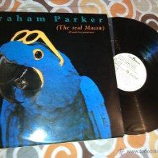 Discos de vinilo: GRAHAM PARKER - THE REAL MACAW (LP, ALBUM). Lote 40007264