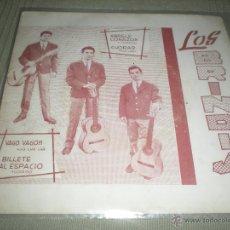 Discos de vinilo: LOS BRINDIS . VAGO -VAGON -- BILLETE AL ESPACIO - ABRELE CORAZÓN - CHORAR. Lote 40011624