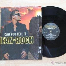 Discos de vinilo: JEAN-ROCH CAN YOU FEEL IT MAXI SINGLE. Lote 40013646