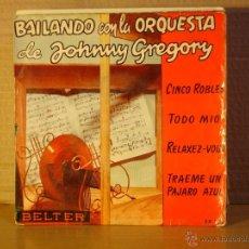Discos de vinilo: ORQUESTA DE JOHNNY GREGORY - BAILANDO CON... - BELTER 50.158. Lote 40017807
