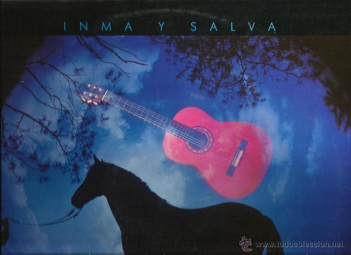 LP INMA Y SALVA : CANTANDO A SEVILLA (ARRREGLOS BENAVENT & AMARGOS ) (Música - Discos - LP Vinilo - Flamenco, Canción española y Cuplé)