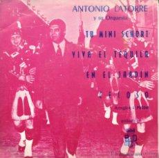 Discos de vinilo: SINGLE ANTONIO LATORRE Y SU ORQUESTA. Lote 40022897