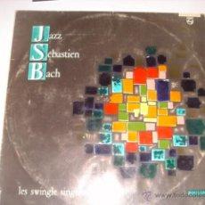 Discos de vinilo: LP. JAZZ SÉBASTIEN BACH. LES SWINGLE SINGERS. PHILIPS. HI-FI ESTEREO. GEMA. 33 R.P.M.. Lote 40025581