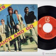 Discos de vinilo: THE CARS 45 RPM TOUCH AND GO +DOWN BOYS ELEKTRA 1980. Lote 40044305