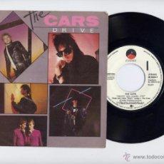 Discos de vinilo: THE CARS PROMO 45 RPM DRIVE+STRANGER EYES WEA 1984. Lote 40044395