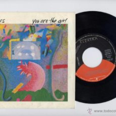 Discos de vinilo: THE CARS PROMO 45 RPM. YOU ARE THE GIRL+TA TA WAYO WAYO ELEKTRA 1987. Lote 40044463