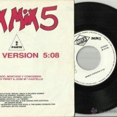 Discos de vinilo: MAX MIX 5 2ª PARTE SINGLE PROMOCIONAL ESPAÑA 1987. Lote 40028190