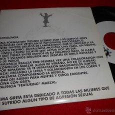 Discos de vinilo: KOVALENCIA GRITA/INSTRUMENTAL MIX/ENTRE TU Y YO 7 EP 1993 CAR CRASH GRUPO TECHNO DISCO ESPAÑA. Lote 40034416