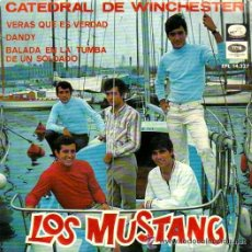 Discos de vinilo: LOS MUSTANG - CATEDRAL DE WINCHESTER + 3 - (LA VOZ DE SU AMO-1967) POP BEAT EP. Lote 40031595