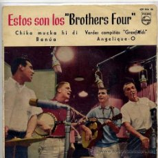 Discos de vinilo: THE BROTHERS FOUR / GREEFIELDS / ANGELIQUE O / BANUA + 1 (EP 1960). Lote 40031793