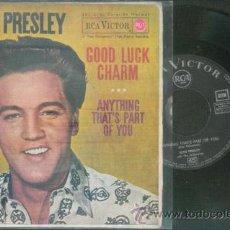 Discos de vinilo: ELVIS PRESLEY GOOD LUCK CHARM (EDICIÓN ESPAÑOLA). Lote 40038589