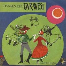 Discos de vinilo: DANSES DEL FAR-WEST (EP DE 1968). Lote 40039924