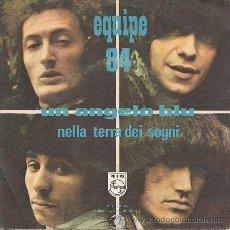 Discos de vinilo: EQUIPE 84: UN ANGELO BLU (SINGLE DE 1968). Lote 40040015