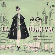 Discos de vinilo: LA GRAN VÍA (EP DE 1959). Lote 40040074