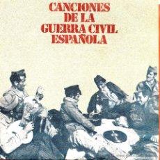 Discos de vinilo: SINGLE CANCIONES DE LA GUERRA CIVIL ESPAÑOLA . Lote 40042029