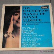 Discos de vinilo: LOS MAGNIFICOS PIANOS DE RONNIE ALDRICH - DECCA - MADE IN SPAIN 1964 - LP. Lote 46787070