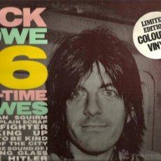 Discos de vinilo: LP NICK LOWE : 16 ALL-TIME LOWES ( VINILO VERDE TRANSPARENTE ). Lote 40047195