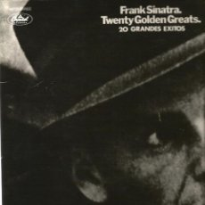 Discos de vinilo: DOBLE LP FRANK SINATRA : TWENTY GOLDEN GREATS ( 20 GRANDES EXITOS ). Lote 40047250