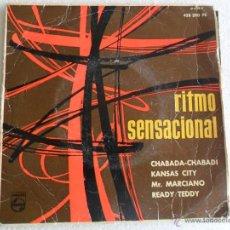 Disques de vinyle: RITMO MUSICAL - LOS ESTUDIANTES, TORQUATO ETC 1961. Lote 40048859