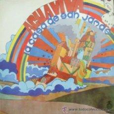 Discos de vinilo: AGUAVIVA -LA CASA DE SAN JAMAS -LP 1972. Lote 40051640