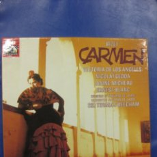 Discos de vinilo: CARMEN. BIZET. VICTORIA DE LOS ANGELES.EMI. ESTUCHE CON 3 LP´S. Lote 40054747