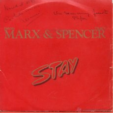 Discos de vinilo: SINGLE MARX & SPENCER STAY. Lote 40062169