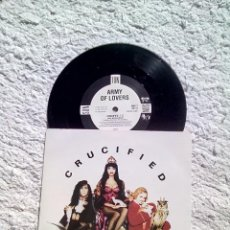 Discos de vinilo: ARMY OF LOVERS - CRUCIFIED - VINILO NO ESPAÑOL. Lote 40065405