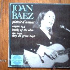 Discos de vinilo: JOAN BAEZ - ENGINE 143 + 3. Lote 40075821