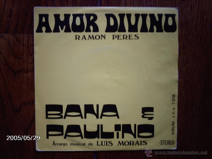 BANA E PAULINO - A VOZ DE CABO VERDE - AMOR DIVINO + POR CAUSA DE VOCE (Música - Discos - Singles Vinilo - Étnicas y Músicas del Mundo)