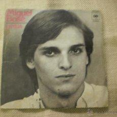 Discos de vinilo: SINGLE DE MIGUEL BOSE .LINDA. Lote 40067271