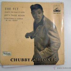 Discos de vinilo: SINGLE CHUBBY CHECKER - THE FLY. Lote 40070016