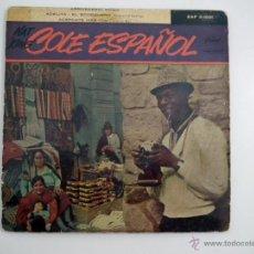 Discos de vinilo: SINGLE NAT KING COLE ESPAÑOL. Lote 40070397