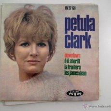 Discos de vinilo: SINGLE PETULA CLARK - DOWNTOWN. Lote 40070860