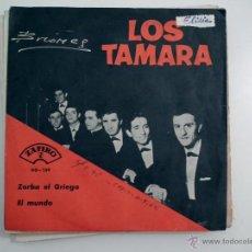 Discos de vinilo: SINGLE LOS TAMARA . Lote 40070996