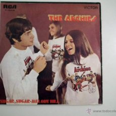 Discos de vinilo: SINGLE THE ARCHIES - SUGAR SUGAR. Lote 40071092