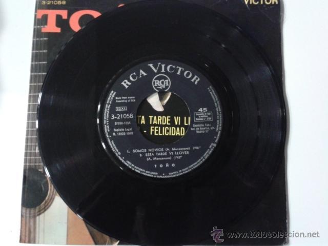 Discos de vinilo: TOÑO Y SUS RUMBAS GITANAS Somos novios/Aquel señor/Felicidad +1 EP RCA VICTOR 1968 RUMBA GIPSY GYPSY - Foto 3 - 40077222