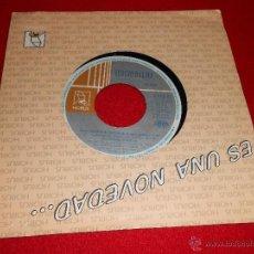 Discos de vinilo: SERGIO DALMA UNA HISTORIA DISTINTA/ TIBURON 7 SINGLE 1992 HORUS PROMO. Lote 40082138