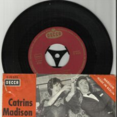 Discos de vinilo: CATRINS MADISON CLUB SINGLE MADISON IN MEXICO ALEMANIA . Lote 40079927