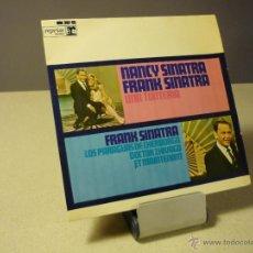Discos de vinilo: NANCY SINATRA FRANK SINATRA UNA TONTERÍA +3 EP. Lote 40084978
