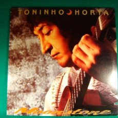 Discos de vinilo: MOONSTONE-TONINHO HORTA-BRASIL-POLYGRAM RECORDS-EE.UU.-FORECAST NEW YORK-PRINTED IN U.S.A.-1989.. Lote 40086583