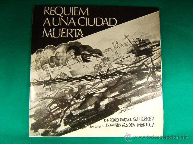 REQUIEM A UNA CIUDAD MUERTA-MANAGUA-NICARAGUA-PEDRO RAFAEL GUTIERREZ-FABIO GADEA MANTILLA-1972/1973. (Música - Discos - LP Vinilo - Grupos y Solistas de latinoamérica)
