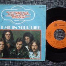Discos de vinilo: U.S. RADIO BAND. LET ME IN YOUR LIFE. SINGLE ABC RECORDS SG-0046. ESPAÑA 1976. COUNTRY ROCK.. Lote 40235182
