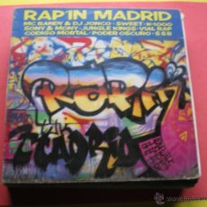 Disques de vinyle: MC RANDY AND DJ JONCO / SWEET / JUNGLE KINGS Y MAS - RAP'IN MADRID - BMG-ARIOLA . Lote 44367082